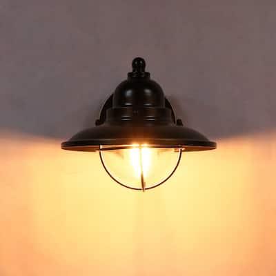 1 Light Wall Light in Imperial Black