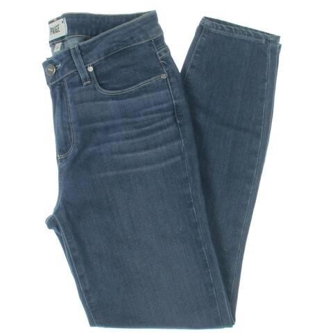 Paige Womens Verdugo Jeans Denim Low Rise - Ridgeline