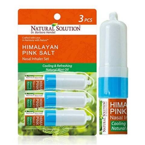Natural Solution Mint Nasal inhaler, Pack of 3