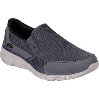 Skechers Men's Relaxed Fit Equalizer 3.0 Bluegate Slip On Charcoal | Shopping The Best Deals on Sneakers