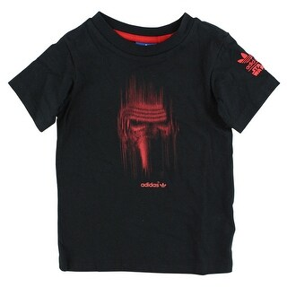 Adidas Baby Boys Star Wars Darth Vader Villain T Shirt Black - Black/red