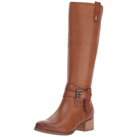 Naturalizer Womens Dev Almond Toe Mid-Calf Fashion Boots
