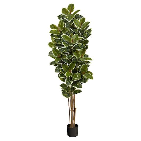 """6' Oak Artificial Tree UV Resistant (Indoor/Outdoor) - 6"""""""