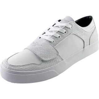 Creative Recreation Cesario Lo XVI Men Round Toe Leather White Fashion Sneakers
