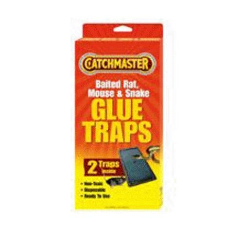 Catchmaster 402 Baited Rat, Mouse and Snake Glue Traps 2/Pack
