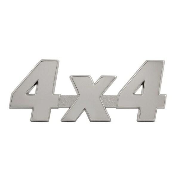 Pilot Automotive Chrome 4 X 4 ABS Plastic Emblem