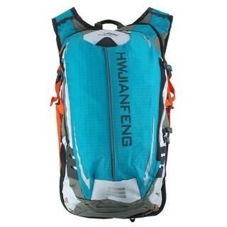 HWJIANFENG Authorized Sports Climbing Running Nylon Backpack Packs Bag Blue 20L