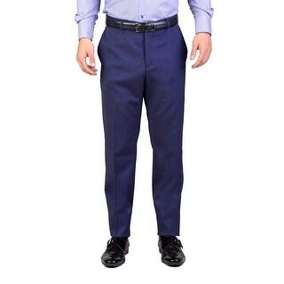 Dior Homme Men's Wool Slim Fit Trouser Pants Midnight Blue - 34