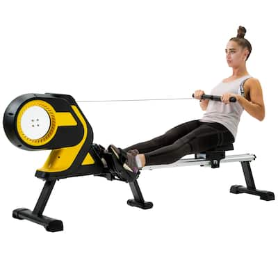 Magnetic Rowing Machine Folding Rower for Home Cardio Workout