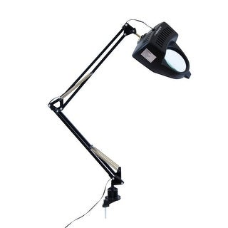 Offex LED Magnifying Lamp - Black
