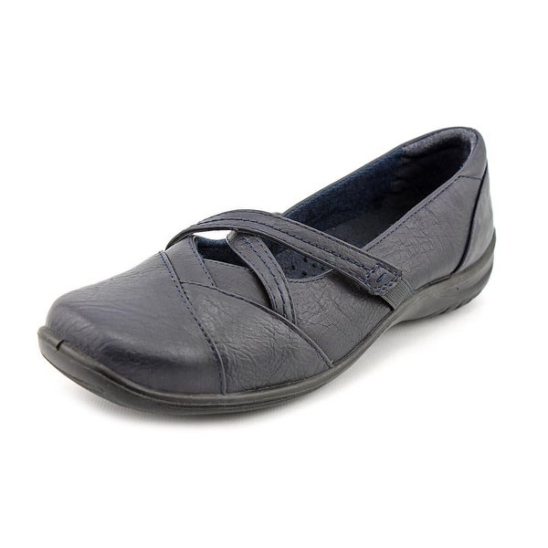 Easy Street Marcie Women Round Toe Synthetic Blue Mary Janes