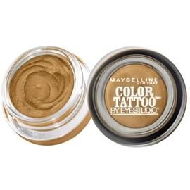 Maybelline EyeStudio Color Tattoo 24Hr Eyeshadow, Bold Gold [45], 0.14 oz