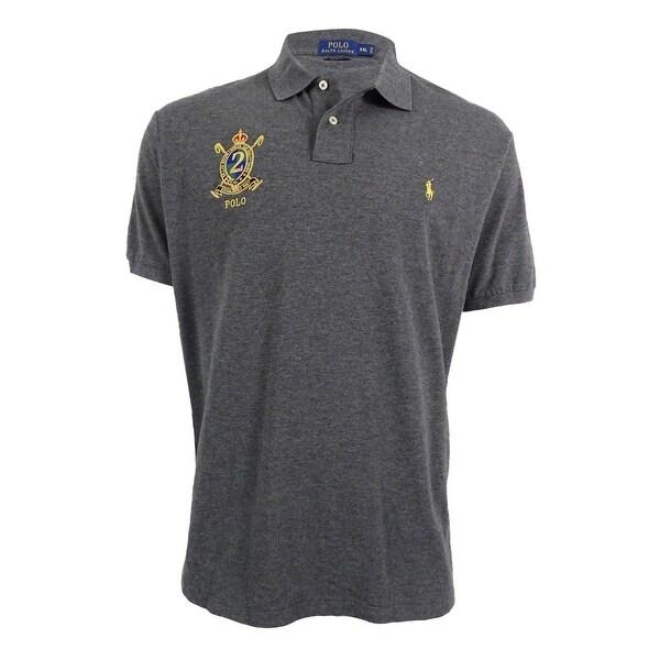 98305f82e9069 Shop Polo Ralph Lauren Men s Custom-Fit Featherweight Polo Shirt (XXL