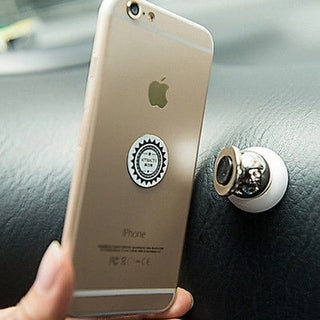 Ball Dock Magnetic Car Mount Holder for Apple iPhone 6 6s 7 8 X Plus