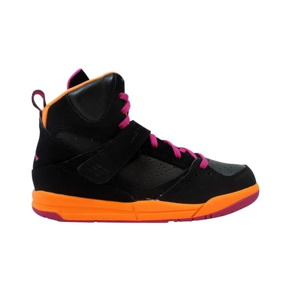 cheapest price nice cheap newest Shop Nike Pre-School Air Jordan Flight 45 High PS Black/Fusion ...