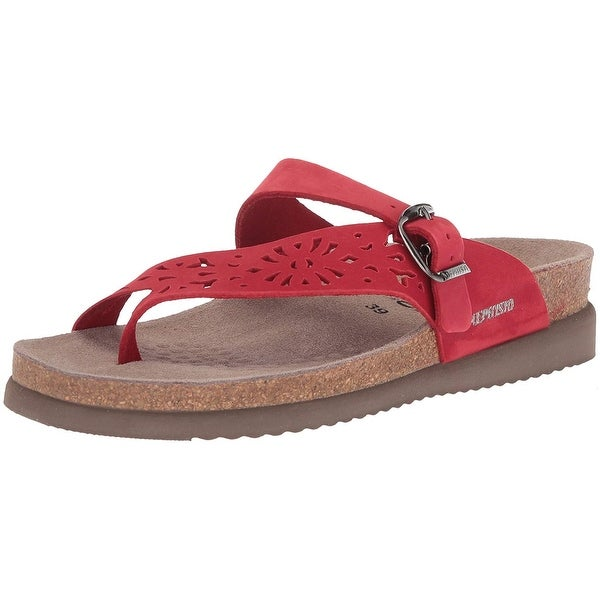 2b1e5d7d50 Shop Mephisto Womens Helen Leather Open Toe Casual Platform Sandals ...