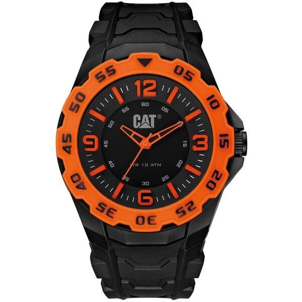 Caterpillar Mens Motion Black Sport Watch