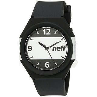 Neff unisex Stripe Watch - Black/White