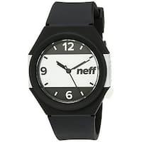 Neff unisex Stripe Watch - Black/White