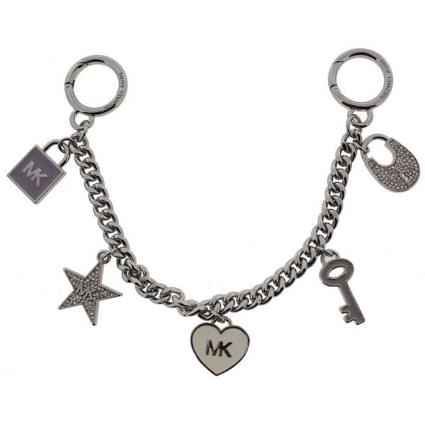 Michael Kors Womens Fashion Keychain Mini Bag Charm O S