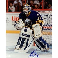 Signed Fuhr Grant Buffalo Sabres 8x10 Photo autographed