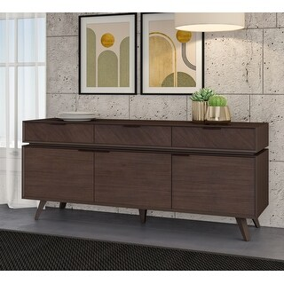 Link to Modrest Roger Mid Century Acacia Buffet Similar Items in Dining Room & Bar Furniture