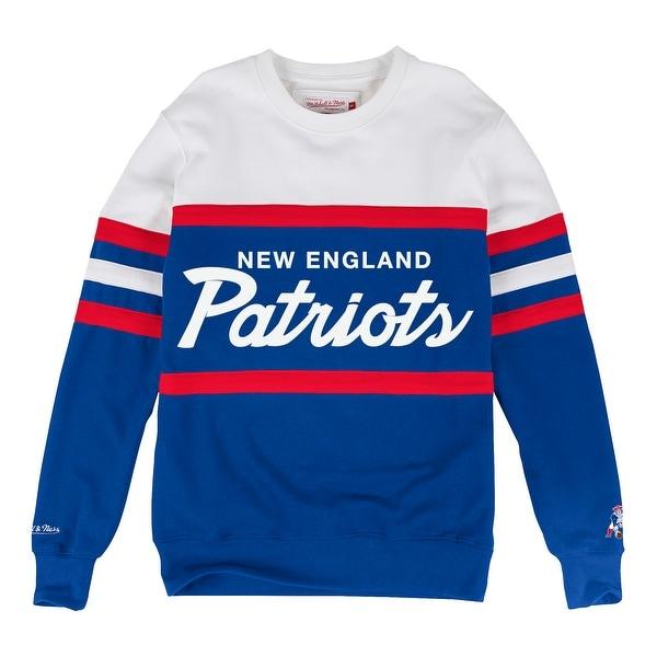 Shop New England Patriots Head Coach Crew Sweatshirt - Ships To ... e408e151ad37