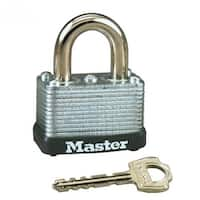"Master Lock 22D Warded Steel Laminated Padlock, 1-1/2"""