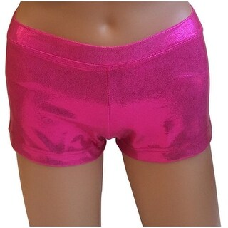 Capezio Womens Boycut Shin Shorts, Purple Paisley, Xsmall (5 options available)