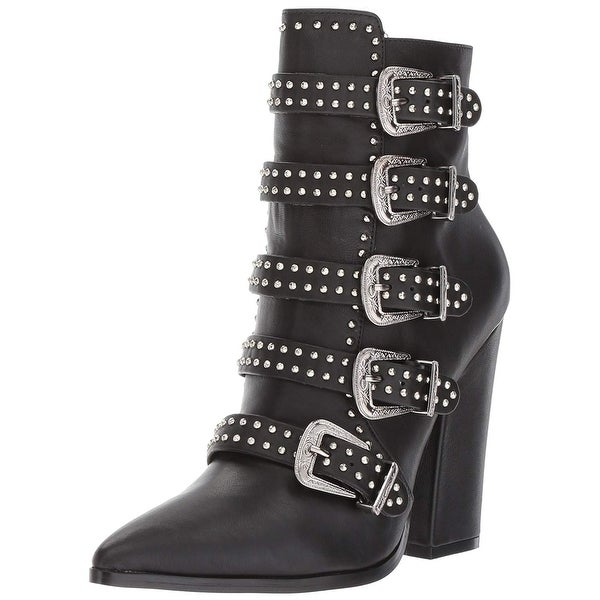 d47c15cc5ce Steve Madden Womens Comet Pointed Toe Ankle Fashion Boots