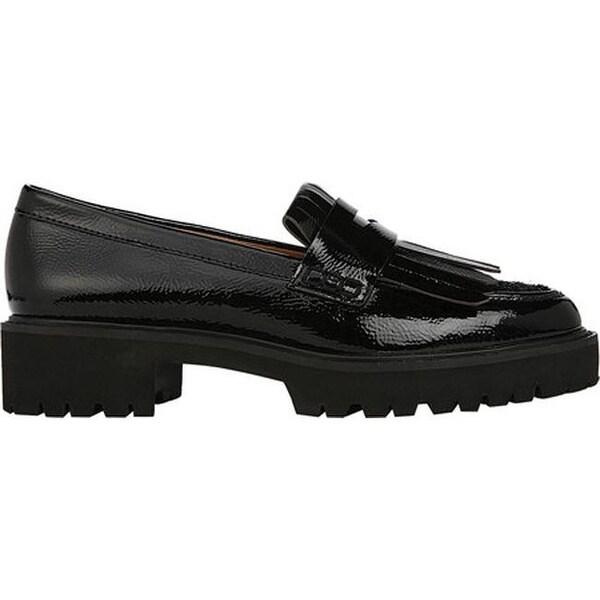 Duncan Kiltie Loafer Black