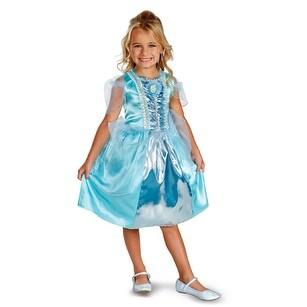Girls Cinderella Sparkle Classic Halloween Costume