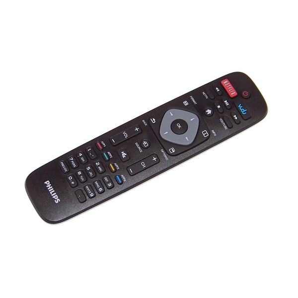 OEM Philips Remote Originally Shipped With: 55PFL4609, 55PFL4609/F7, 43PFL4909, 43PFL4909/F7, 65PFL4909, 65PFL4909/F7