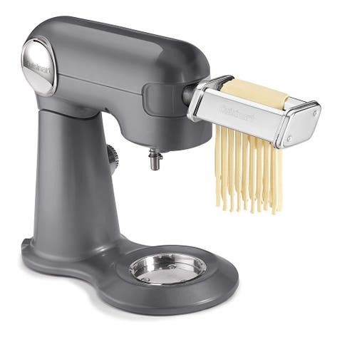 Cuisinart PRS-50 Pasta Roller & Cutter Attachment for 5.5 Qt. Stand Mixer, Stainless Steel
