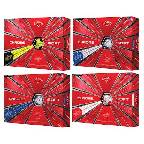 Callaway Chrome Soft Truvis Golf Balls - 1 Dozen