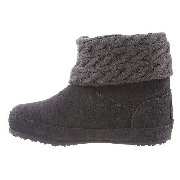 Bearpaw Womens Alison 6 In. Suede Closed Toe Ankle Cold Weather Boots