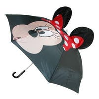 Disney Women's Minnie Mouse Pop Up Ears Umbrella - One size