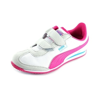 Puma Whirlwind V Kids Round Toe Synthetic Sneakers