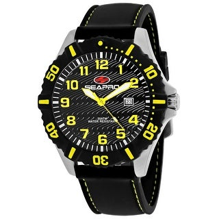 Link to Seapro Men's Trooper Black Dial Watch - SP1512 - One Size Similar Items in Men's Watches