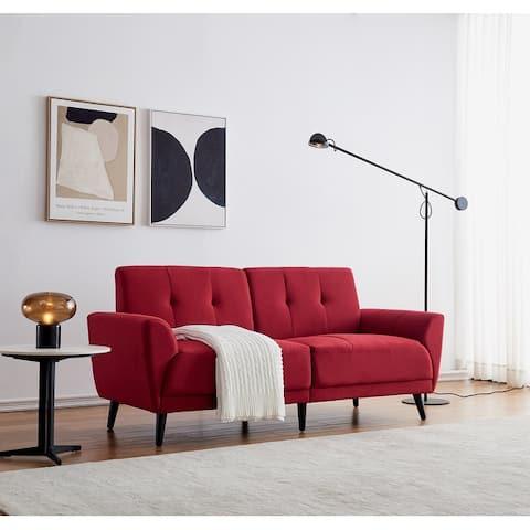 71'' Flared Arm Sofa