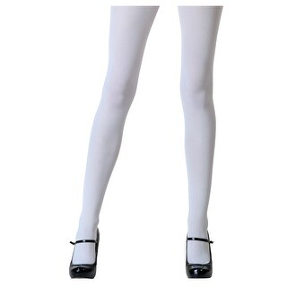 Plus Size White Tights
