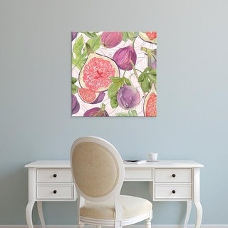 Easy Art Prints Leslie Mark's 'Fig Medley II' Premium Canvas Art