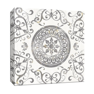 """PTM Images 9-147848  PTM Canvas Collection 12"""" x 12"""" - """"Mandala Medallion"""" Giclee Patterns and Designs Art Print on Canvas"""