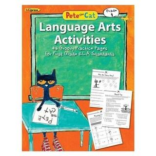 Edupress EP-3515 Pete The Cat Language Arts Workbook Gradde 1