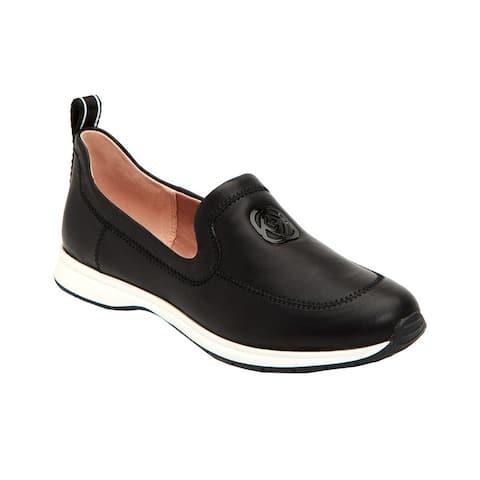 Taryn Rose Baylor Leather Slip-On Sneaker
