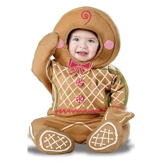 California Costumes Gingerbread Man Infant Costume - Brown (2 options available)