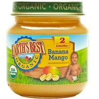 Earth's Best - Organic Banana Mango Blends ( 12 - 4 OZ)