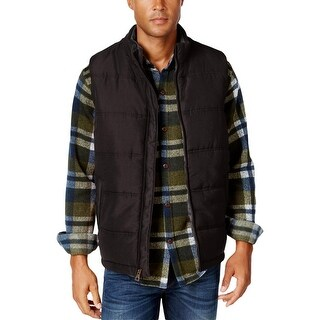 Weatherproof Vintage Mens Outerwear Vest Puffer Pockets