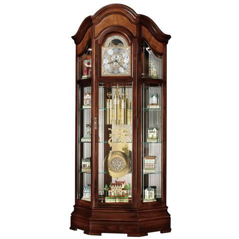 Howard Miller Classic Majestic II Grandfather Clock Style Standing Clock with Pendulum and Movements, Reloj de Pendulo de Piso
