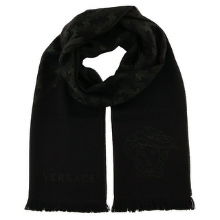 Versace IT00637 100% Wool Mens Scarf